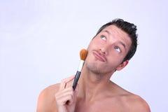 Uomo cosmetico Fotografia Stock