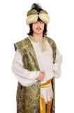 Uomo in costume orientale Immagine Stock