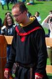Uomo in costume storico Fotografia Stock