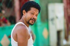 Uomo cubano fotografia stock