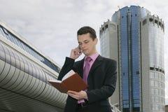 Uomo d'affari 4 fotografie stock