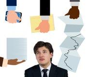 Uomo d'affari Immagini Stock