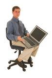 Uomo d'affari #60 Fotografie Stock Libere da Diritti