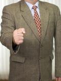 Uomo d'affari in abbigliamento di affari immagine stock