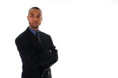Uomo d'affari africano immagine stock libera da diritti