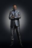 Uomo d'affari Afro American Fotografia Stock