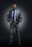 Uomo d'affari Afro American Fotografia Stock Libera da Diritti