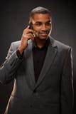 Uomo d'affari afroamericano Fotografia Stock Libera da Diritti