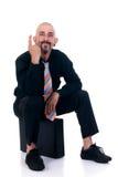 Uomo d'affari alternativo Fotografia Stock Libera da Diritti
