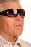 Uomo d'affari anziano e con esperienza Fotografie Stock