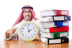 Uomo d'affari arabo Immagini Stock Libere da Diritti