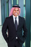 Uomo d'affari arabo Fotografia Stock