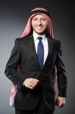Uomo d'affari arabo Immagine Stock Libera da Diritti