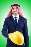 Uomo d'affari arabo Fotografia Stock Libera da Diritti
