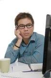 Uomo d'affari asiatico Immagini Stock Libere da Diritti