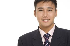 Uomo d'affari asiatico 2 Immagine Stock Libera da Diritti