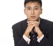 Uomo d'affari asiatico 3 fotografia stock libera da diritti