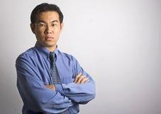 Uomo d'affari asiatico Fotografie Stock