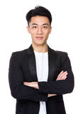 Uomo d'affari asiatico fotografia stock libera da diritti