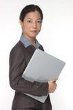 Uomo d'affari asiatico femminile Immagine Stock Libera da Diritti