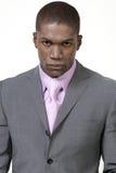 Uomo d'affari attraente in vestito Immagine Stock Libera da Diritti