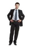 Uomo d'affari bello Immagine Stock Libera da Diritti