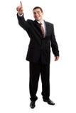 Uomo d'affari bello immagine stock