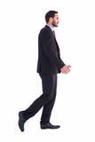 Uomo d'affari bello nell'allontanarsi del vestito Fotografie Stock