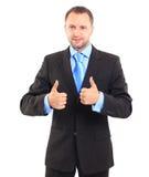 Uomo d'affari buon Fotografia Stock Libera da Diritti
