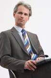 Uomo d'affari carismatico Immagine Stock Libera da Diritti