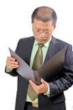 Uomo d'affari cinese Fotografie Stock