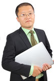 Uomo d'affari cinese Immagini Stock