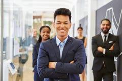Uomo d'affari come giovane imprenditore Immagine Stock