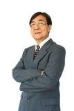 Uomo d'affari con i vetri Immagini Stock