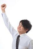 Uomo d'affari con la fiducia Fotografia Stock Libera da Diritti