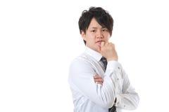 Uomo d'affari con la fiducia Fotografie Stock