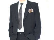 Uomo d'affari con soldi Fotografia Stock Libera da Diritti