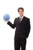 Uomo d'affari con visione Fotografia Stock Libera da Diritti