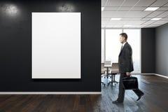 Uomo d'affari In Conference Room Fotografia Stock