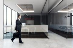 Uomo d'affari In Conference Room Immagine Stock