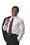 Uomo d'affari del African-American Fotografia Stock