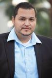 Uomo d'affari del Latino Fotografie Stock Libere da Diritti