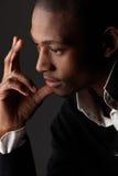 Uomo d'affari dell'africano nero Fotografia Stock Libera da Diritti