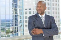 Uomo d'affari dell'afroamericano immagini stock
