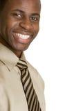 Uomo d'affari dell'afroamericano Immagine Stock Libera da Diritti