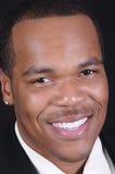 Uomo d'affari dell'afroamericano Fotografia Stock