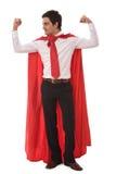 Uomo d'affari dell'eroe Fotografie Stock