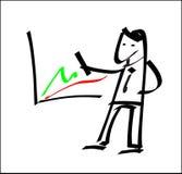 Uomo d'affari dell'illustrazione Immagini Stock