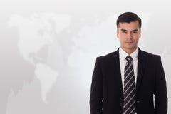 Uomo d'affari dell'investitore immagine stock