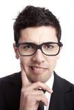 Uomo d'affari della nullità Fotografie Stock Libere da Diritti